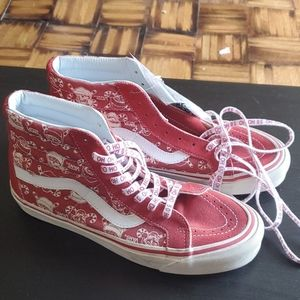 Holiday vans sneakers